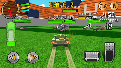 Demolition derby: Poly junkyard screenshot 3
