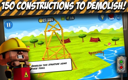 Screenshots von Demolition Duke für Android-Tablet, Smartphone.