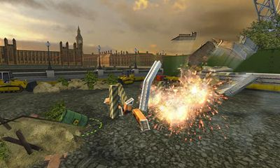 Screenshots of the Demolition Master 3D for Android tablet, phone.