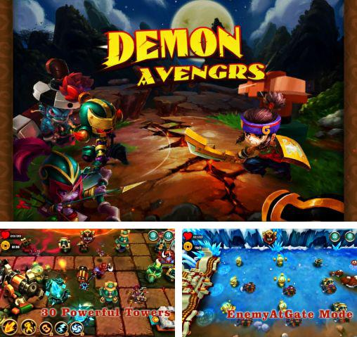 In addition to the game TD Ninja birds Defense for Android phones and tablets, you can also download Demon avengers TD for free.