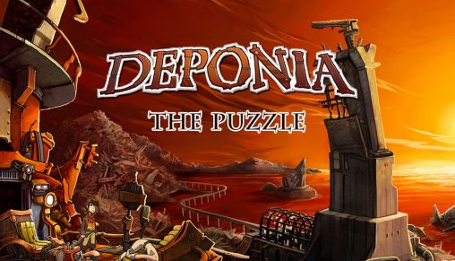 Deponia: The puzzle poster
