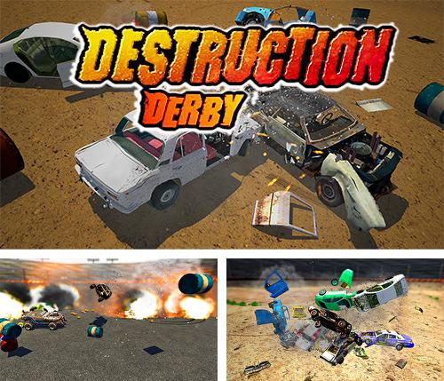 Zusätzlich zum Spiel Off Road: Moto Bike Bergrennen für Android-Telefone und Tablets können Sie auch kostenlos Derby destruction simulator, Destruction Derby Simulator herunterladen.