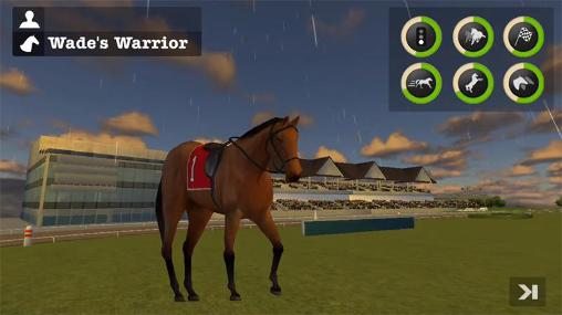 Screenshots von Derby horse quest für Android-Tablet, Smartphone.