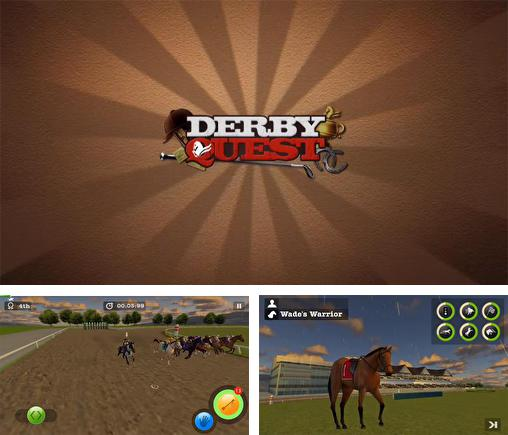 In addition to the game Photo finish: Horse racing for Android phones and tablets, you can also download Derby horse quest for free.