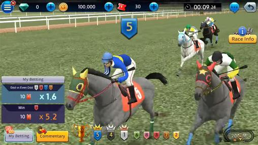 Download Derby king: Virtual betting Android free game.