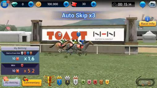 Get full version of Android apk app Derby king: Virtual betting for tablet and phone.