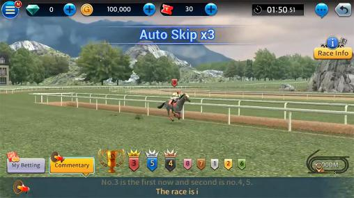 Screenshots of the Derby king: Virtual betting for Android tablet, phone.