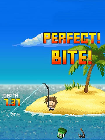 Desert island fishing screenshot 1