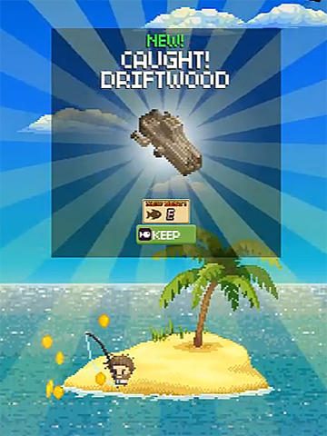 Desert island fishing screenshot 3