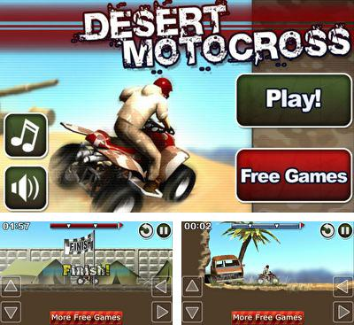 In addition to the game Mountain Moto for Android phones and tablets, you can also download Desert Motocross for free.