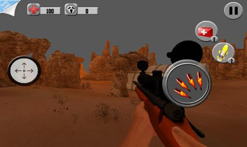 Desert sniper shooting for Android - Download APK free