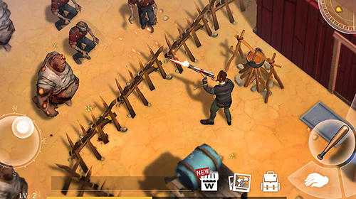 Screenshots do Desert storm: Zombie survival - Perigoso para tablet e celular Android.