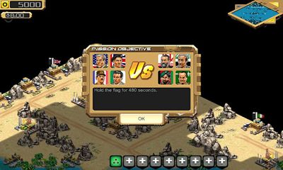 Download Desert Stormfront Android free game.