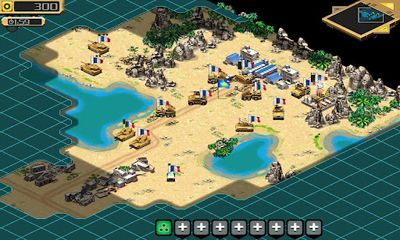 Screenshots of the Desert Stormfront for Android tablet, phone.