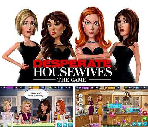 Zusätzlich zum Spiel Henris Geheimniss für Android-Telefone und Tablets können Sie auch kostenlos Desperate housewives: The game, Desperate Housewives: Das Spiel herunterladen.