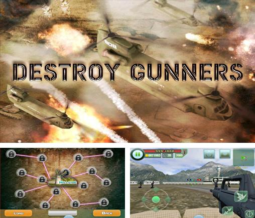 In addition to the game Destroy Gunners SP II:  ICEBURN for Android phones and tablets, you can also download Destroy gunners for free.