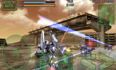 Screenshots of the Destroy Gunners SP for Android tablet, phone.