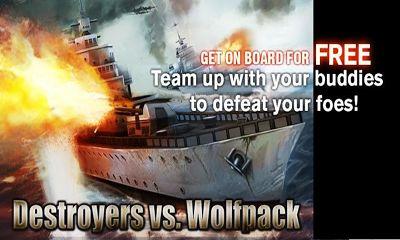 Destroyers vs. Wolfpack постер приложения