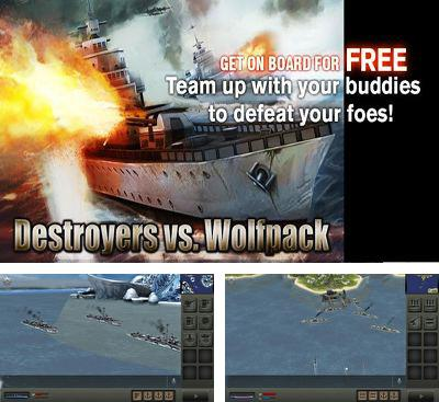 In addition to the game Catcha Catcha Aliens! for Android phones and tablets, you can also download Destroyers vs. Wolfpack for free.