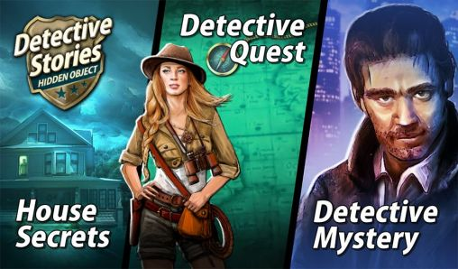 Detective stories: Hidden object 3 in 1 обложка