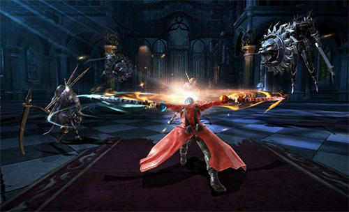 Devil may cry: Pinnacle of combat screenshot 3