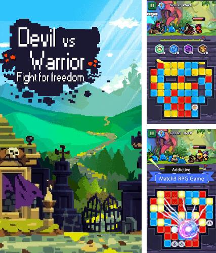 Devil vs warrior: Fight for freedom