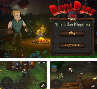 In addition to the game White Water for Android phones and tablets, you can also download DevilDark: The Fallen Kingdom for free.