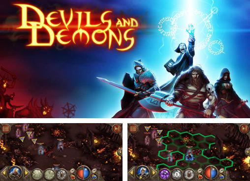In addition to the game King's Bounty Legions for Android phones and tablets, you can also download Devils and demons for free.