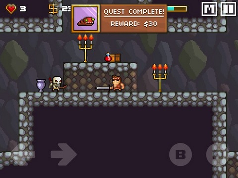 Screenshots von Devious dungeon für Android-Tablet, Smartphone.