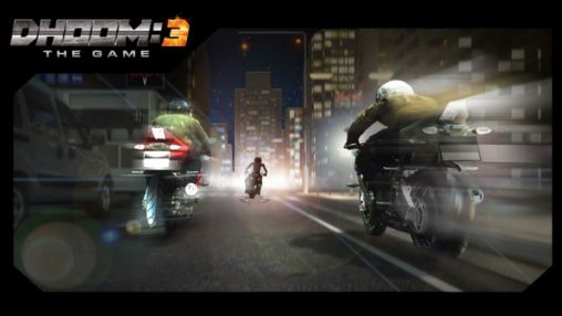 Dhoom:3 the game poster