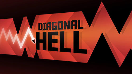 Diagonal hell poster