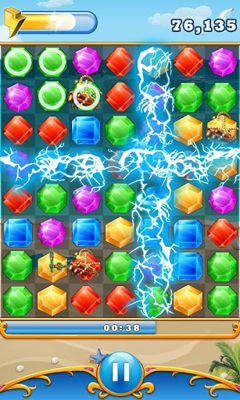 Screenshots do Diamond Blast - Perigoso para tablet e celular Android.