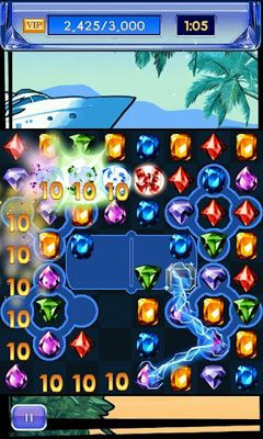 Screenshots do Diamond Twister 2 - Perigoso para tablet e celular Android.