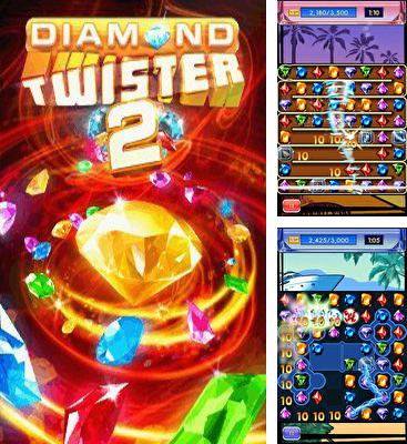 In addition to the game Block breaker 3 unlimited for Android phones and tablets, you can also download Diamond Twister 2 for free.