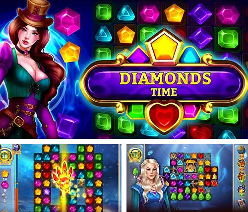 Diamonds time: Mystery story match 3 game