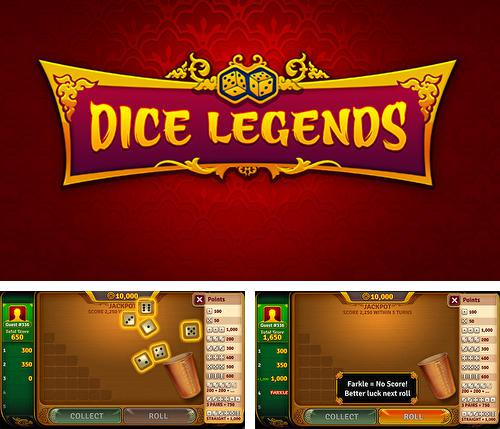 In addition to the game Bingo World for Android phones and tablets, you can also download Dice legends: Farkle game for free.