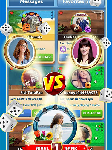Jogue Dice with buddies para Android. Jogo Dice with buddies para download gratuito.