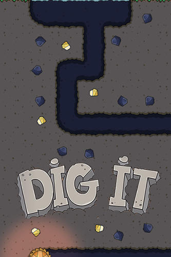 Dig it! Cat mine poster