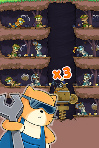 Dig it! Cat mine screenshot 3