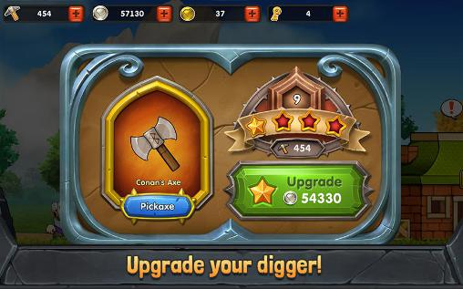 Screenshots von Dig out! für Android-Tablet, Smartphone.