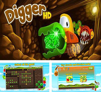 In addition to the game Melo's Magic Castle Defense for Android phones and tablets, you can also download Digger HD for free.