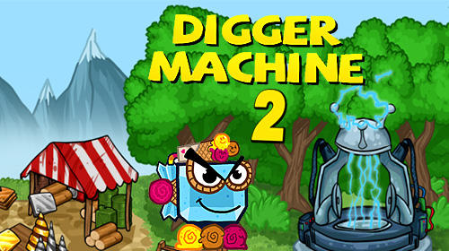 Digger machine 2: Dig diamonds in new worlds обложка