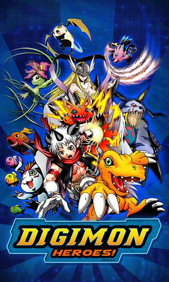 Digimon heroes! poster