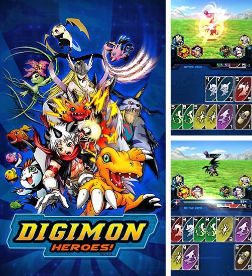 In addition to the game BeyWarriors for Android phones and tablets, you can also download Digimon heroes! for free.