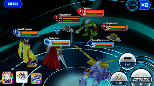 Digimon links für Android spielen. Spiel Digimon Links kostenloser Download.