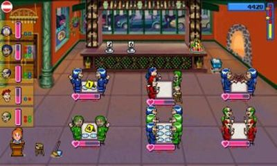 Screenshots von Diner Dash 2 für Android-Tablet, Smartphone.