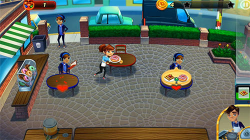 Screenshots von Diner dash adventures für Android-Tablet, Smartphone.