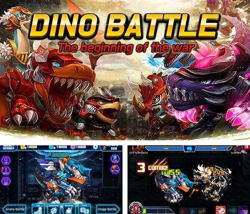 Dino battle: The beginning of the war