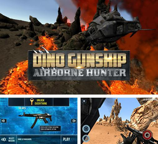 In addition to the game Jurassic shooter 3D for Android phones and tablets, you can also download Dino gunship: Airborne hunter for free.
