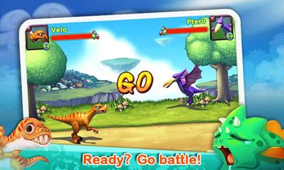 Screenshots of the Dino Paradise for Android tablet, phone.